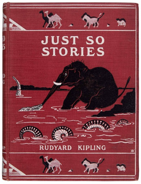 KIPLING, RUDYARD  Just So Stories.