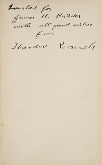 [ROOSEVELT, THEODORE]  Hunting Trips of a Ranchman. Sketches of Sport on the Northern Cattle Plains.