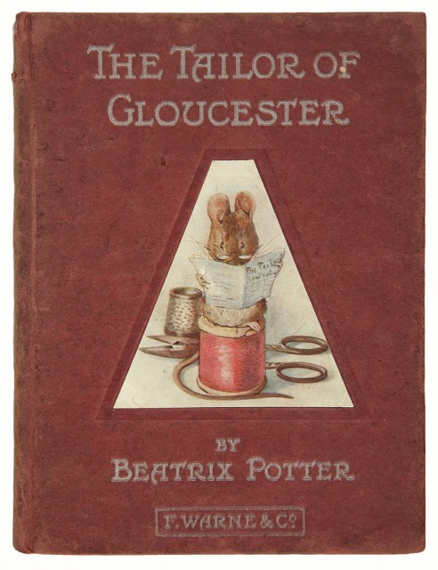 POTTER, BEATRIX  The Tailor of Gloucester.