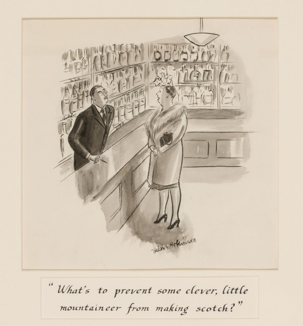 "HOKINSON, HELEN ELNA (1993-1949)  ""What's to prevent some clever, little mountaineer from making Scotch?"""
