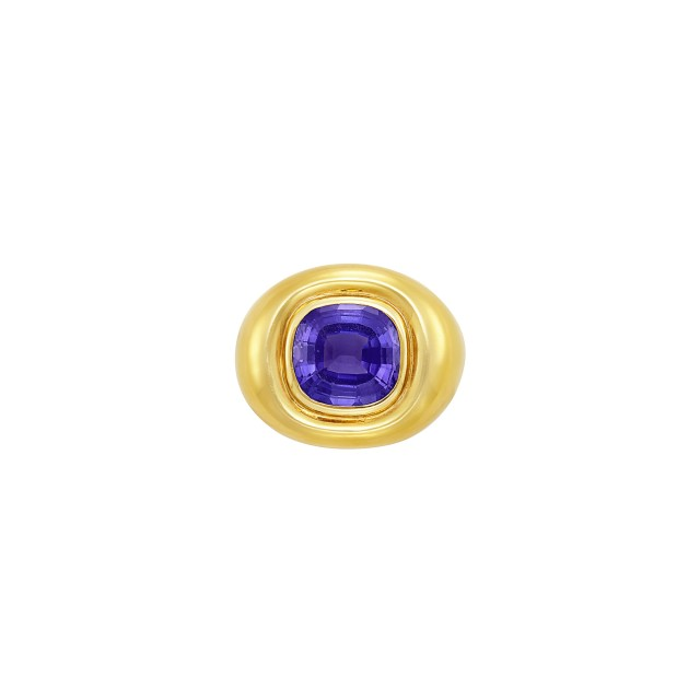 Gold and Tanzanite Ring, Tiffany and Co., Paloma Picasso