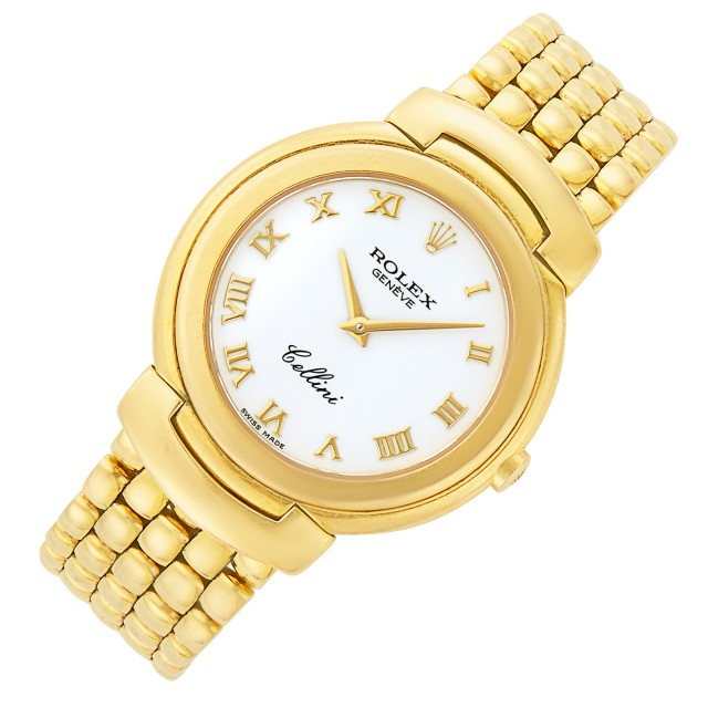Gold 'Cellini' Wristwatch, Rolex