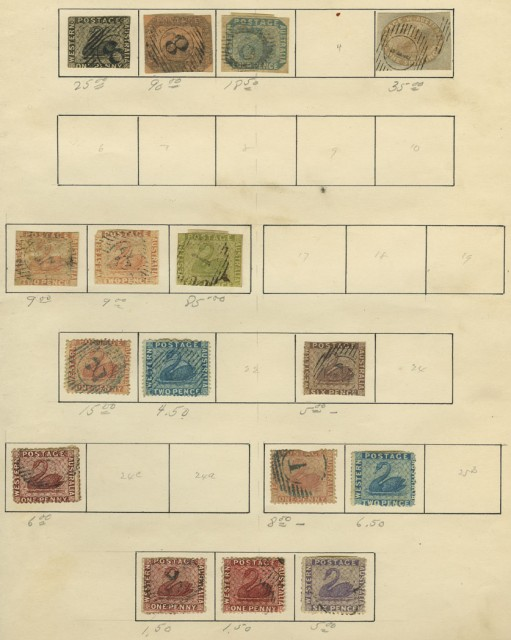 Pacific Area Collection of Postage Stamps