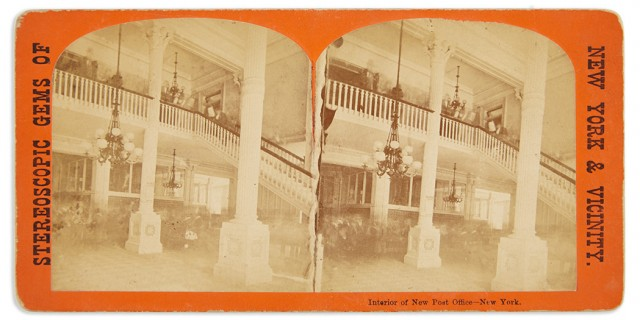 [NEW YORK-PHOTOGRAPHY]  Group of photographically illustrated albums and stereo views.