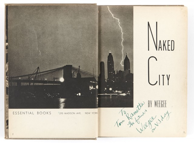 WEEGEE  Naked City.