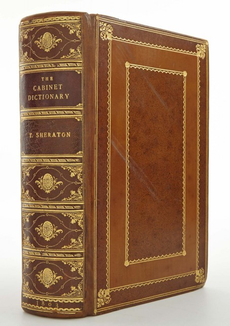 SHERATON, THOMAS The Cabinet Dictionary: containing an explanation of all the terms used in the cabinet, chair and upholstery branches...