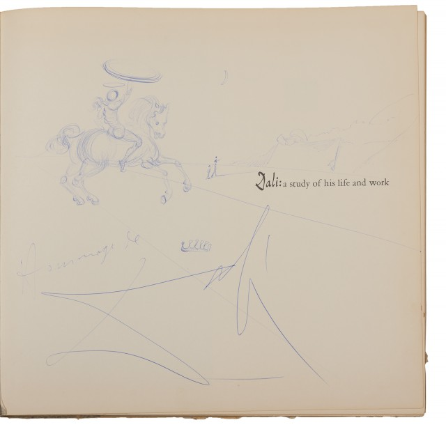 [Salvador Dali] Dali: A Study of His Life and Work Greenwich: New York Graphic Society, [1958]. First American edition with a la...