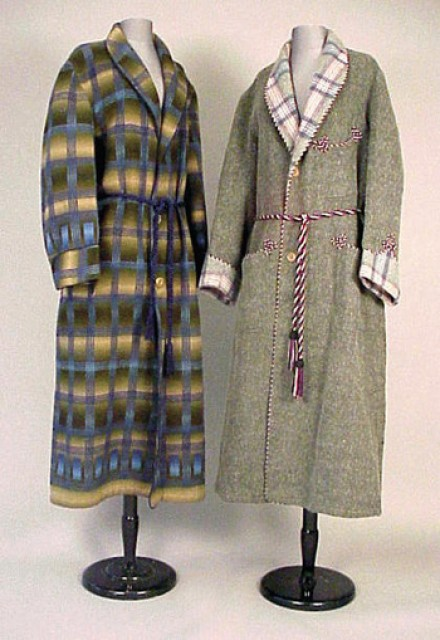 Two Gentlemanand#39; s Wool Dressing Gowns