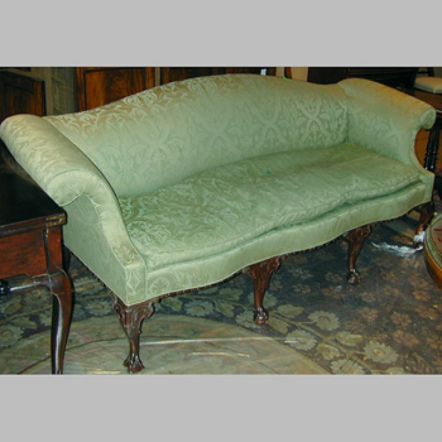 Magnificent Georgian Style Upholstered Sofa For Sale At Auction On Wed Machost Co Dining Chair Design Ideas Machostcouk