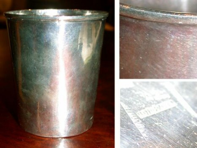 American Coin Silver Mint Julep Cup for Sale at Auction on