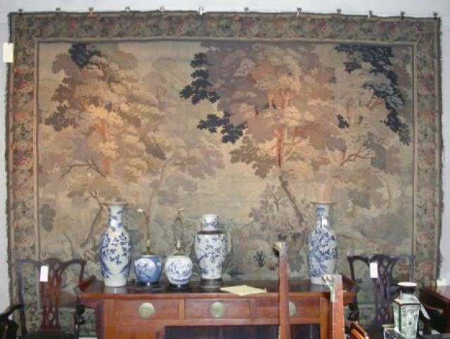 Jacquard Machine Loom Verdure Tapestry for Sale at Auction
