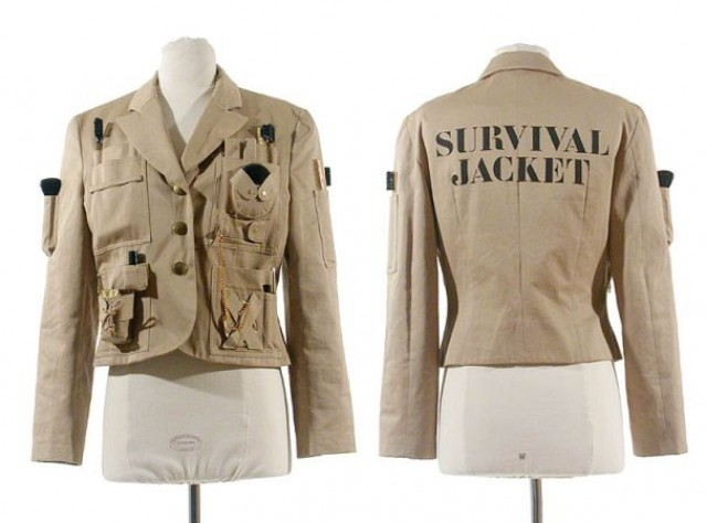moschino couture survival jacket for sale at auction on wed 04 21