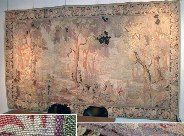 Jacquard Loom Verdure Tapestry for Sale at Auction on Wed, 09/15
