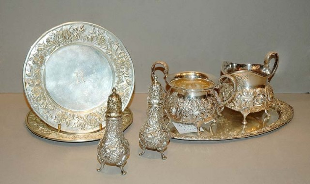 Miscellaneous Group of Samuel Kirk & Son Sterling Silver Articles; and an...