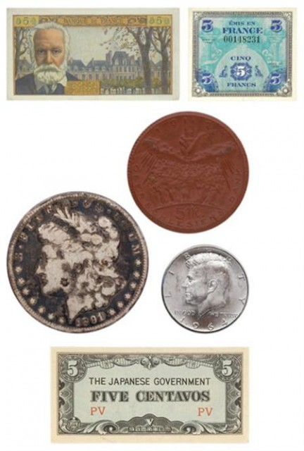 Group of United States and Foreign Coins