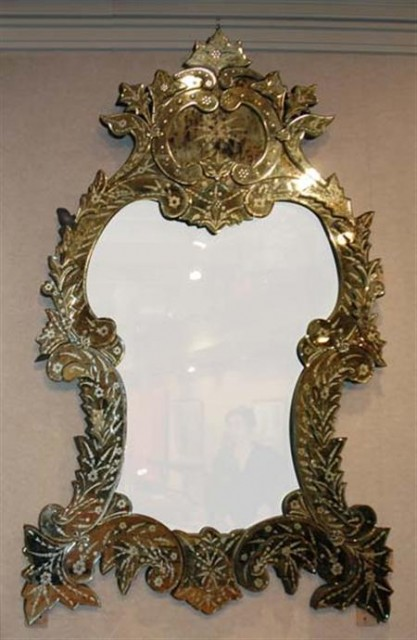 Venetian Mirror Framed Mirror For Sale At Auction On Wed 06 04 2008 07 00 Belle Epoque Doyle Auction House