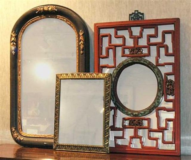 Group Of Vintage Mirrors For Sale At Auction On Wed 08 13 2008 07 00 Doyle At Home Doyle Auction House