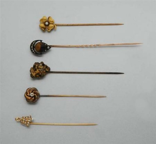 Assorted Group of Antique Stickpins
