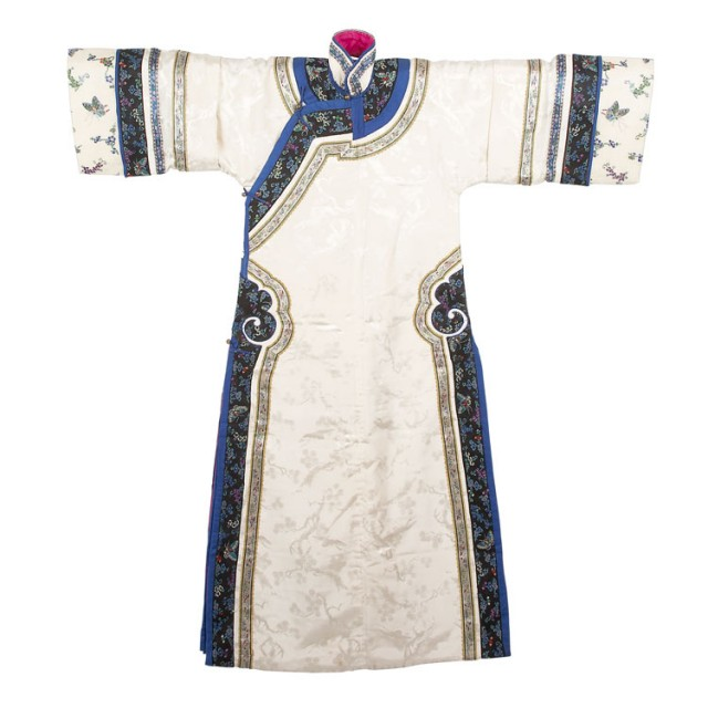 cbed8a9dd Chinese Silk Damask Lady's Winter Robe for Sale at Auction on Mon ...