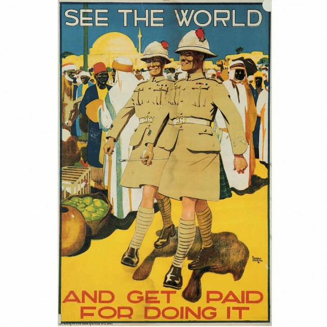 Alfred Leete SEE THE WORLD; t/w Herbert Paus THE WOMANS LAND ARMY OF...