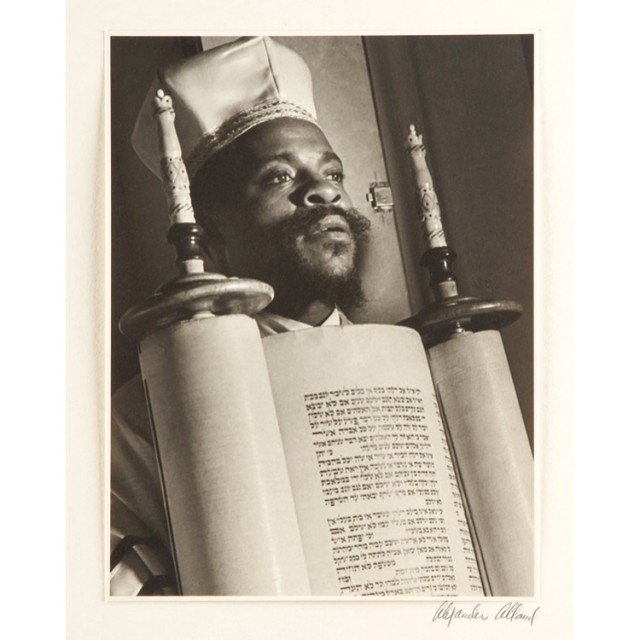 ALLAND, ALEXANDER (1902-1989) From a Portfolio of Black Jews in America