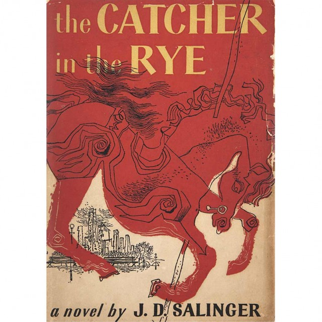 SALINGER, J.D. The Catcher in the Rye.