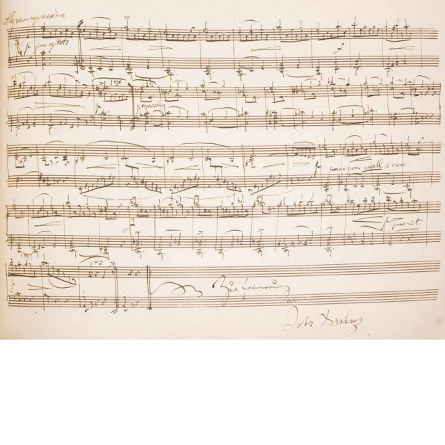 [MANUSCRIPT-MUSIC]  Album Amicorum of Arnold Wehner