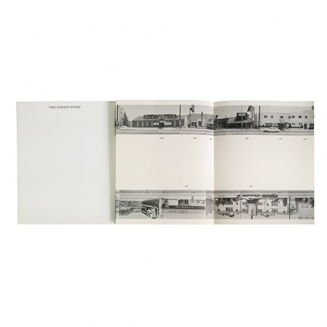 [PHOTOBOOK]  RUSCHA, EDWARD. Every Building on the Sunset Strip