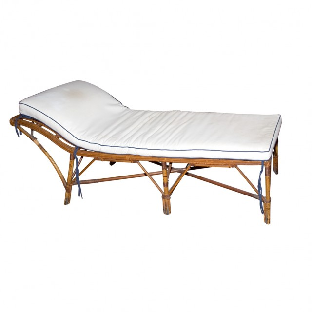 Victorian Bamboo Chaise Lounge For Sale At Auction On Wed 06 22