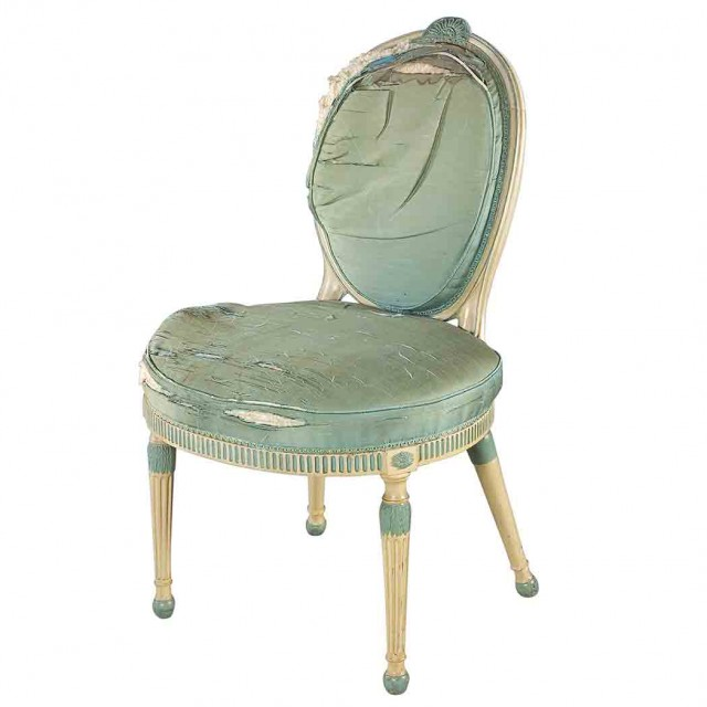 George III Painted Side Chair