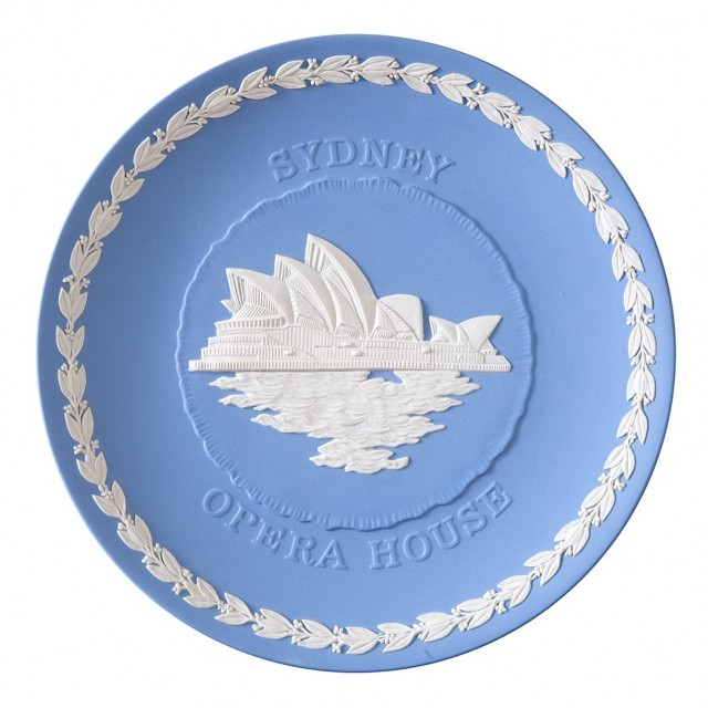 Wedgwood Jasperware Commemorative Sydney Opera House Plate