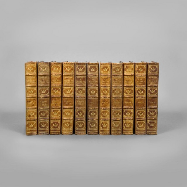 [FINE BINDINGS]  Group of twenty-one volumes