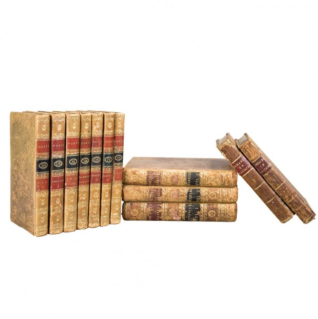 [FINE BINDINGS]  Group of approximately thirty-nine small volumes