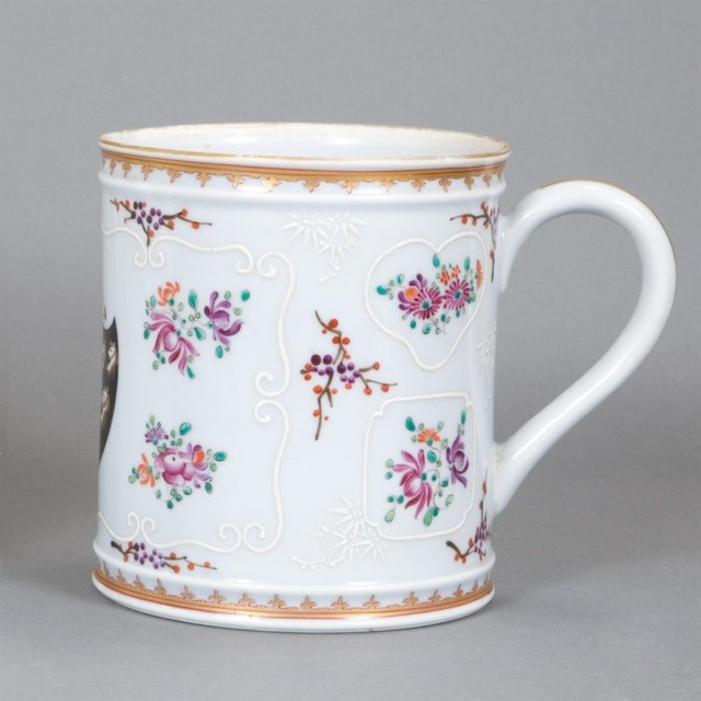 Sampson Chinese Export Style Porcelain Mug