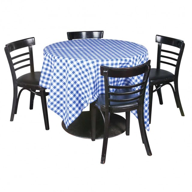 Elaine\'s Table Number One; Together with a Set of Four Cafe Chairs
