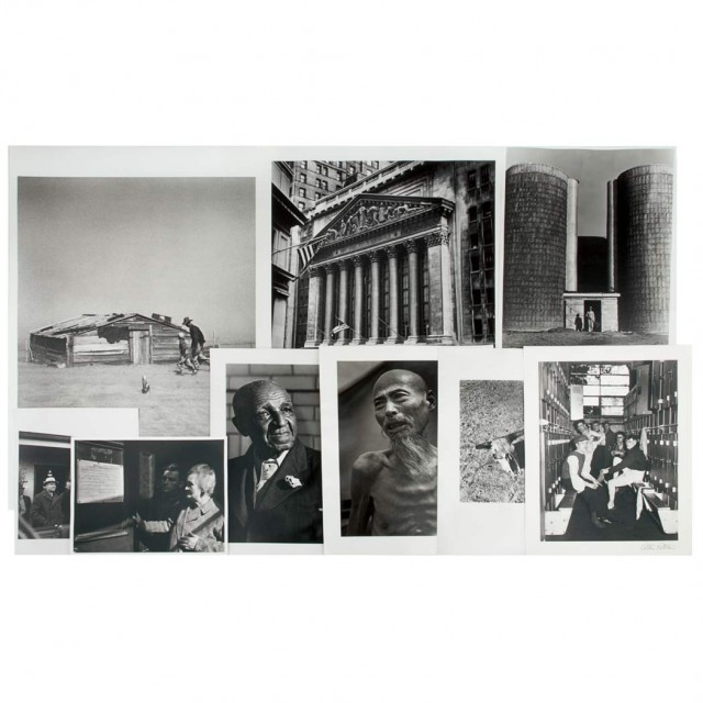 ROTHSTEIN, ARTHUR  Large photographic archive of approximately two hundred images