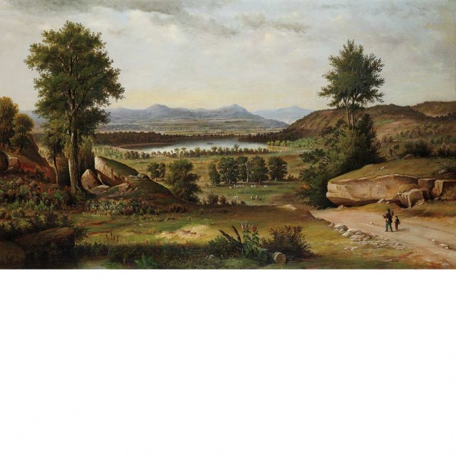 Florida landscape by hermann herzog tops doyle new york s auction of