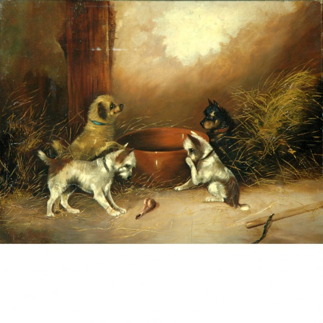 Frank Cassell British, 19th Century Mealtime