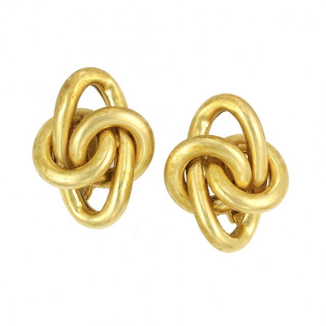 Pair of Gold Earclips