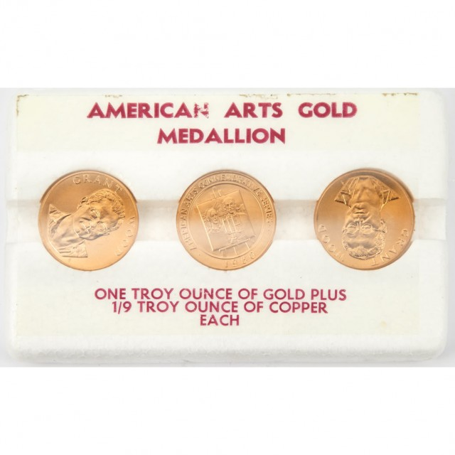 American Arts Gold Medallion Group for Sale at Auction on ...