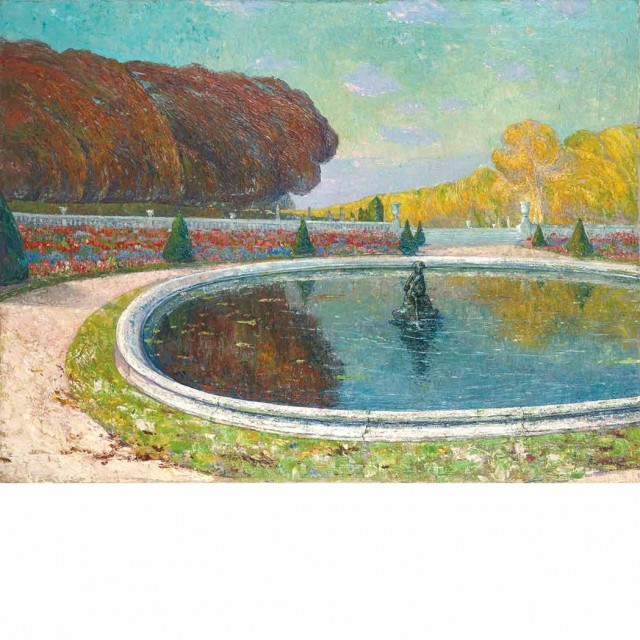 Paul Leduc Belgian, 1876-1943 Le Grand Bassin