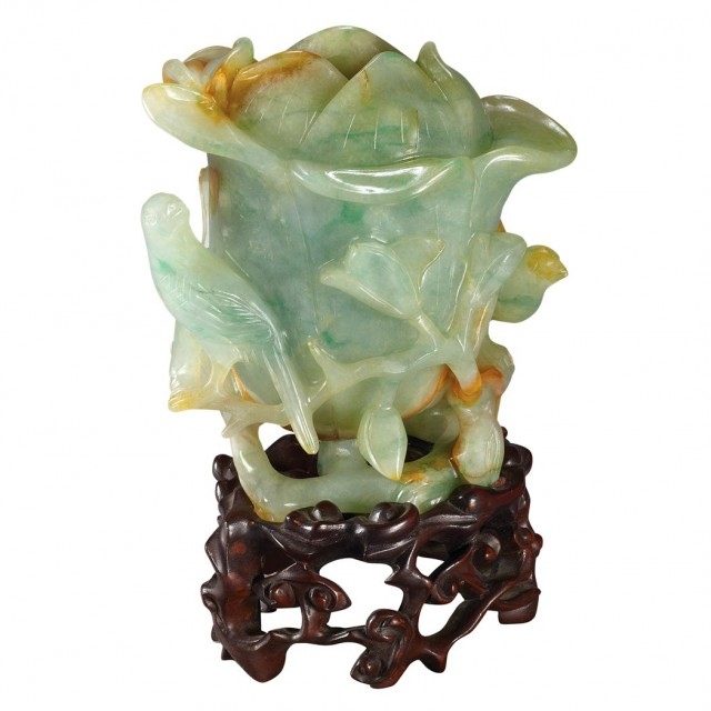 Chinese Jadeite Vase For Sale At Auction On Mon 09102012 0700