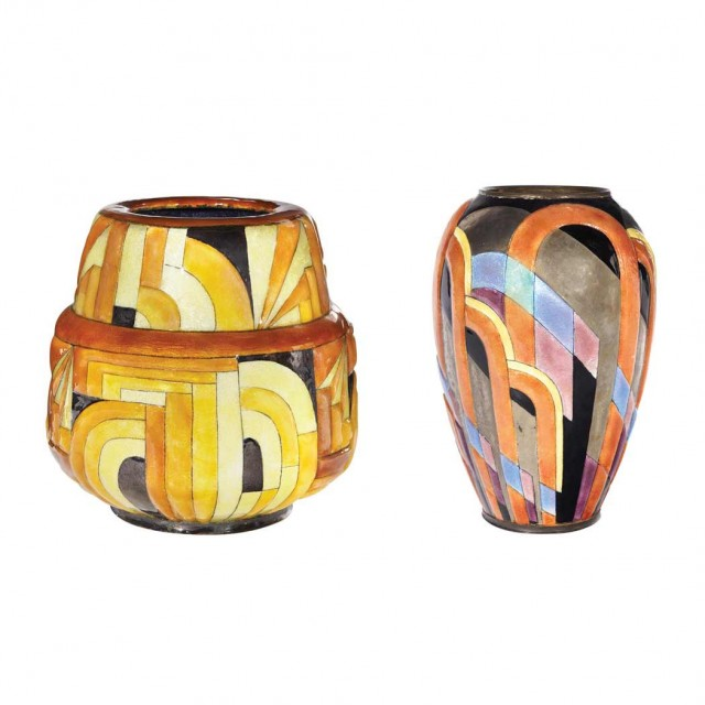 Art Deco Vases By Camille Faure Top Doyle New Yorks October 16