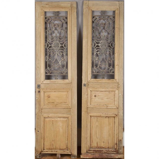 Pair of French Oak Doors