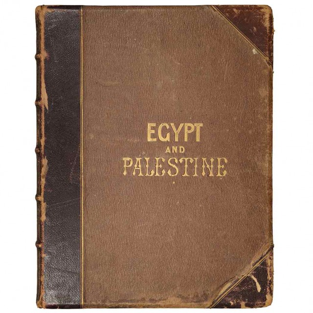 [EGYPT]  FRANCIS, FRITH. Egypt and Palestine Photographed and Described