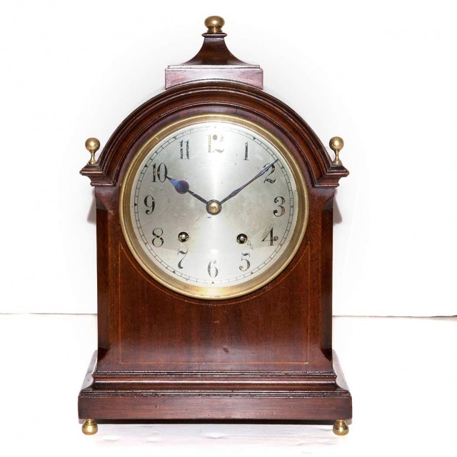Bailey Banks And Biddle Brass And Mahogany Bracket Clock For Sale At Auction On Tue 09 10 2013 07 00 Doyle At Home Doyle Auction House