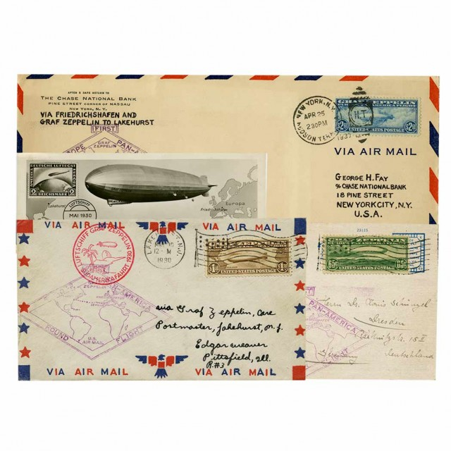 United States, 1930 Graf Zeppelin Issue for Sale at Auction
