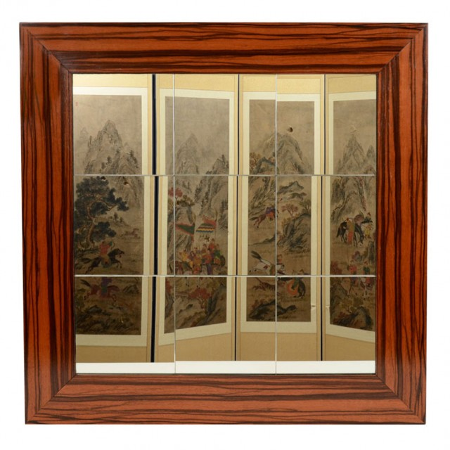 Art Deco Style Macassar Mirror For Sale At Auction On Wed 01 15 2014 07 00 The Yale R Burge Collection Doyle Auction House