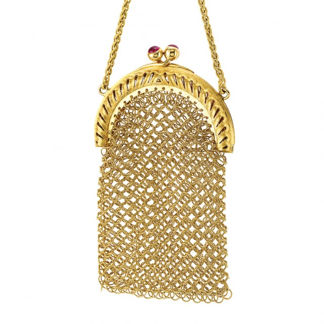 Gold Mesh Change Purse, Buccellati