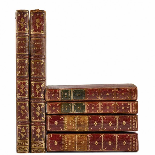 [BINDING-FRENCH] Group Of Three Works In Period Bindings